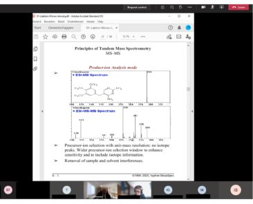 Online course Interp.of MSMS spectra